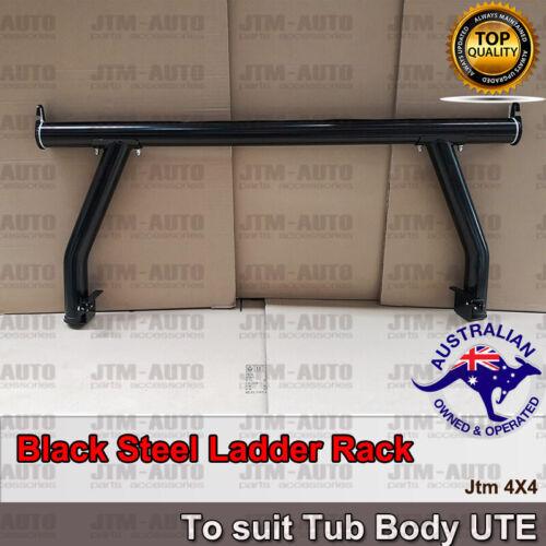 Universal Black Steel Ladder Rack Roll Bar for Ute Tub Hilux Amarok Ranger D-max
