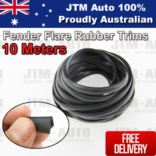 10m Meters Wheel Arch Fender Flare Rubber Trims Seals Flares Fenders