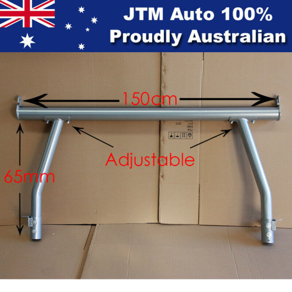 Universal Aluminium Alloy Ladder Rack Roll Bar for Ute Tub Hilux Amarok Ranger