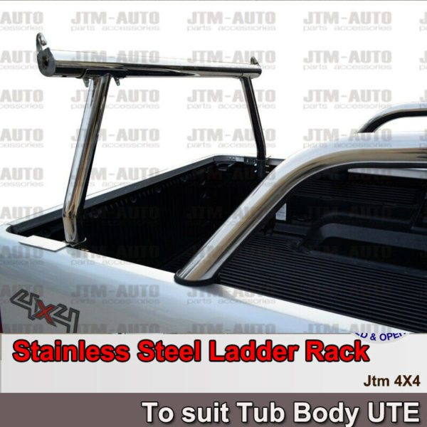 Universal Stainless Steel Ladder Rack Roll Bar for Ute Tub Hilux Ranger Navara