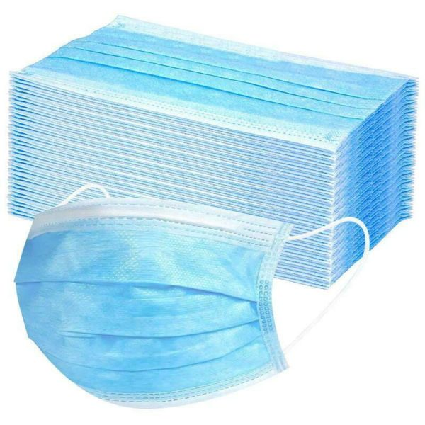 20 x Disposable Medical Surgical Sterile Anti-Bacterial 3 Filter Layer Face Mask