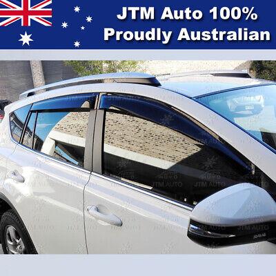 Best Weathershields Weather Shield Window Visor to suit Toyota Prado 150 2009-21