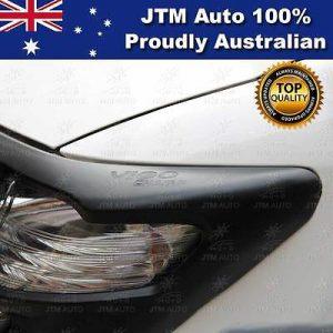 Matt Black Door Handle Bowl Cover Protector to suit Toyota Hilux 2015-2020