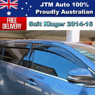Weather Shields Weathershields WINDOW VISOR to suit Toyota Kluger 2014-2020