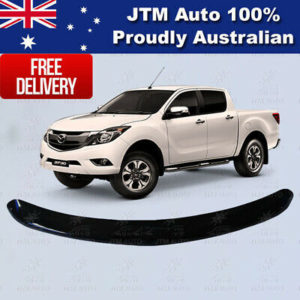 Black Guard Bonnet Protector to suit Premium Mazda BT-50 BT50  2012-2020