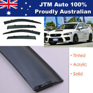 Window Visor Weathershield weather shield For Subaru WRX STI Sedan 2015+