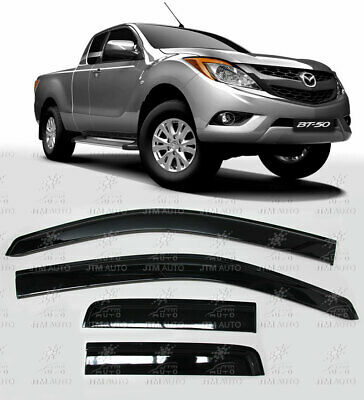 Weather Shields Window Visors to suit Mazda BT-50 BT50 Extra Cab 2012-2020