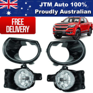 Driving/ Fog Lights Lamps Complete Kit Suits Holden Colorado 2017-2020