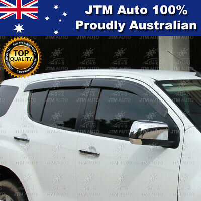 Injection Weather Shield Window Visors suit Holden Trailblazer 2013-2020