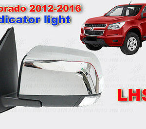 LHS Holden Colorado POWER Electric Door Mirror + LED Indicator Light 2012-2016