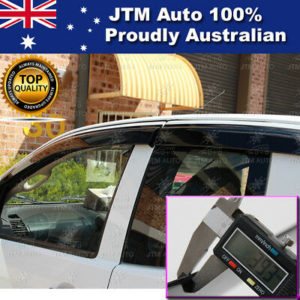 Injection Weathershields WINDOW VISORS For Holden Colorado Extra Cab 2012-2020