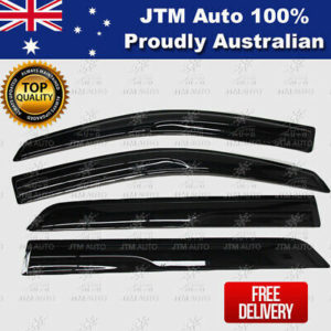 Premium Weather Shield Window Visors Weathershield For Ford Everest 2015-2020