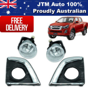 Driving/ Fog Lights Lamps Complete Kit to suit ISUZU D-Max Dmax 2017-2020