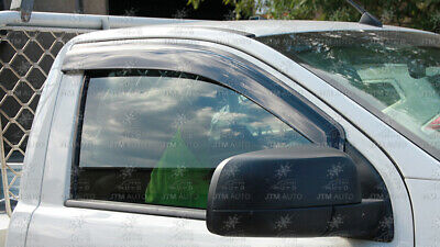 Injection Weather Shields Visors Weathershields For Ranger Single Cab 2012-2020