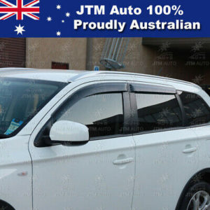 Premium Weather Shields Window Visors to suit Mitsubishi Outlander 2013-2020