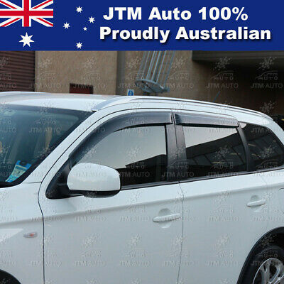 Premium Weather Shields Window Visors to suit Mitsubishi Outlander 2013-2020