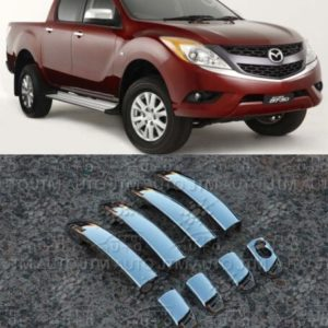 Mazda BT-50 Door Handle Cover Protectors 2012-2019