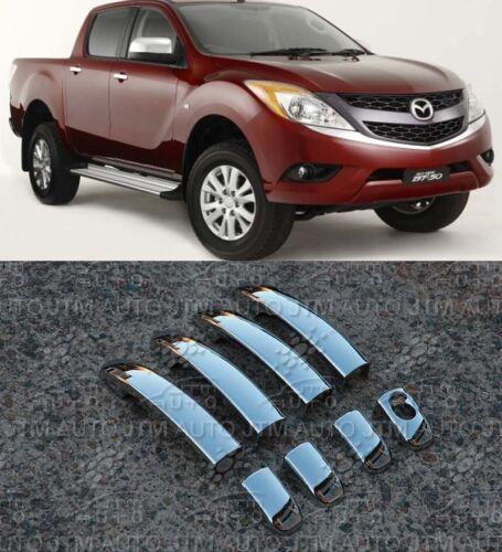 Mazda BT-50 Door Handle Cover Protectors 2012-2019