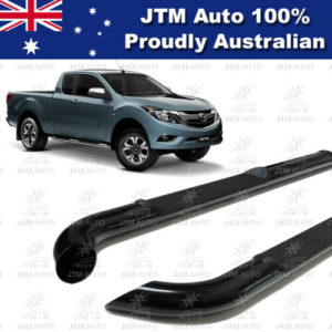 Running Boards Side Steps Black so suit BT50 BT-50 Super / Extra Cab 2012-2020