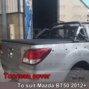 Tri-Fold Folding Tonneau Cover to suit Mazda BT-50 BT50 Dual Cab 2012-2020