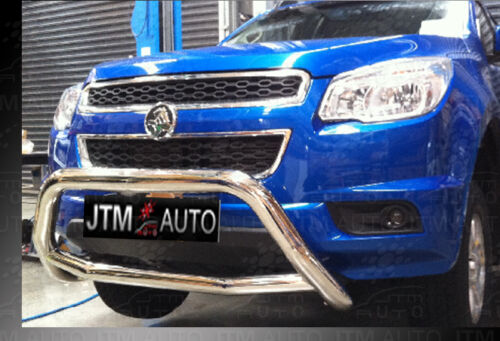 Nudge Bar Stainless Steel Grille Guard to suit Holden Colorado 2012-2020