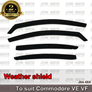 Weathershields Weather Shields Window Visor For Holden VE VF Commodore Sedan