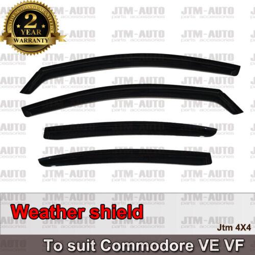 Weathershields Weather Shields Window Visor For Holden VE VF Commodore Sedan