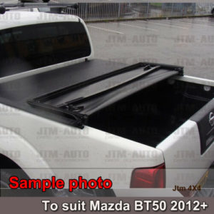 Tri-Fold Folding Tonneau Cover to suit Ford Ranger PX PX2 Dual Cab 2012-2020