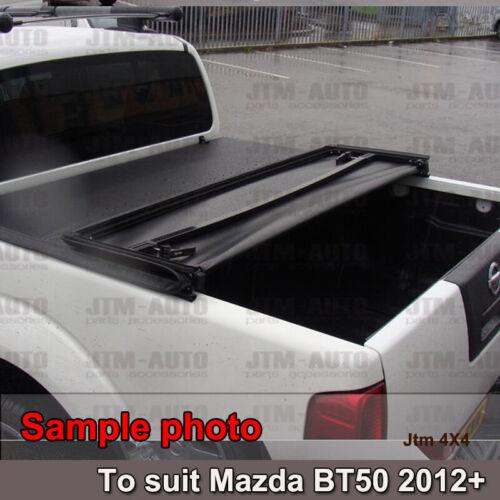 Tri-Fold Folding Tonneau Cover to suit Ford Ranger PX PX2 Dual Cab 2012-2020