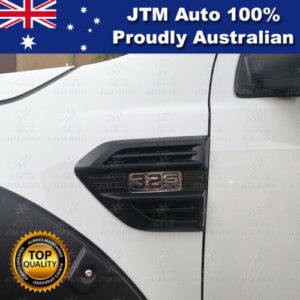 MATT Black Indicator Side Wind Cover Vent to suit Ford Ranger PX2 PX3 2015-2019