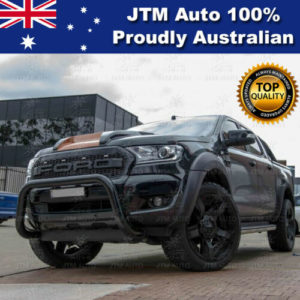 "ADR Approved Black 3"" Nudge Bar to suit Ford Ranger Tech Pack + Sensor 2015-2018"