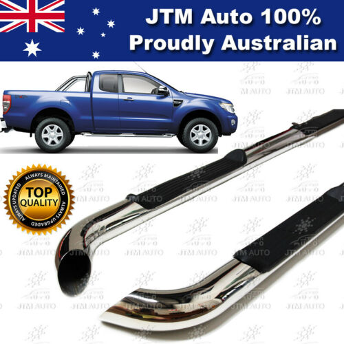 Running Boards Side Steps to suit Ford Ranger Extra Cab Super Cab 2012-2020