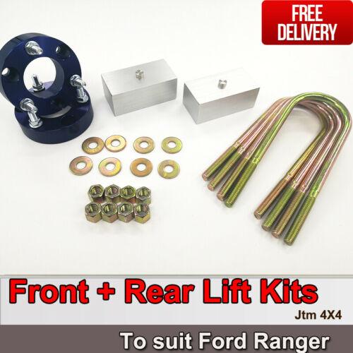 "2"" Front + Rear Suspension Block Spacer Lift Kit suit Ford Ranger PX 2012-2018"