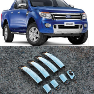 Door Handle Cover Protectors to suit Ford Ranger PX PX2 2012-2019