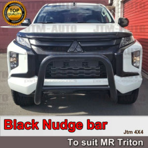 Brand new Black OEM Nudge Bar Grille Guard For Mitsubishi Triton MR 2018+
