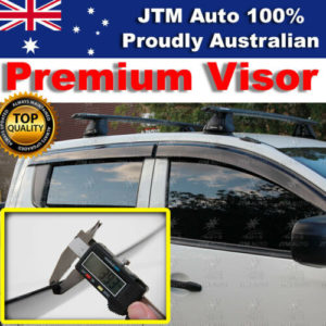 Weathershields Weather Visors Weather Shields For Mitsubishi Triton MQ 2015-2019