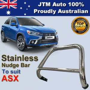 Nudge Bar Stainless Steel Grille Guard For Mitsubishi ASX 2010-2016