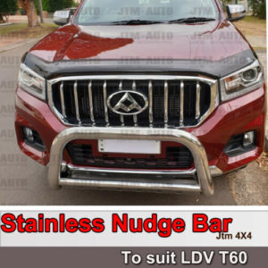 Stainless Steel Nudge Bar steel Grille Guard to suit LDV T60 2017-2020