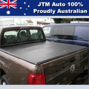 Tri-Fold Folding Soft Tonneau Cover to suit VOLKSWAGEN VW Amarok 2010-2020