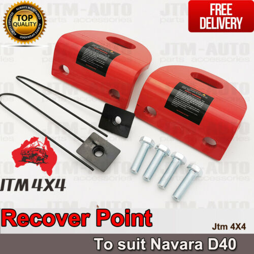 Recovery Tow Point Kit 3250 KG Hitch for Nissan Navara D40