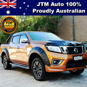 Wrinkle Matt Black Nissan Navara NP300 Fender Flares Wheel Arch Pocket 2014-2020