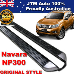 Running Boards Side Steps Aluminium For Nissan Navara NP300 OEM Style 2015-2020