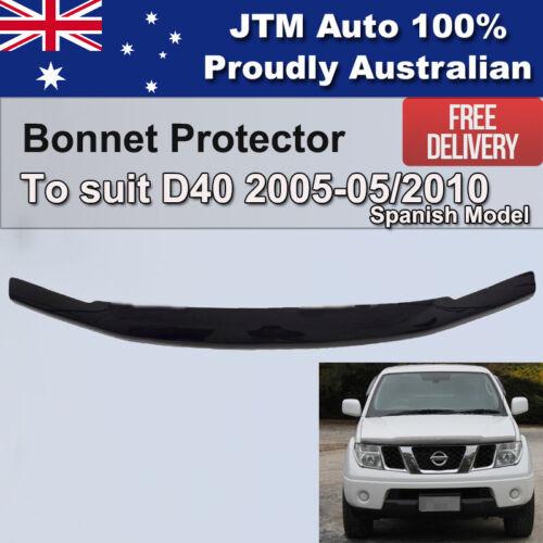 Bonnet Protector to suit Nissan Navara D40 2005-2010 Spanish Model