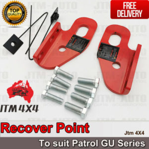 Recovery Tow Point Kit 12mm 5 Tonne Hitch for Nissan Patrol GU Series 2 3 4 5