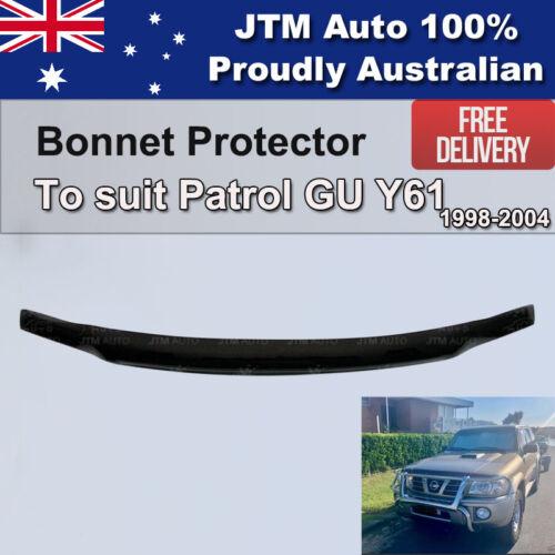 Bonnet Protector Guard to suit Nissan Patrol GU Y61 1998-2004