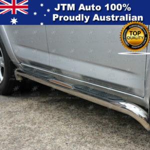 """Side Steps 3"""" Stainless Steel Running Board suitable for Toyota Rav4 2006-2012"""
