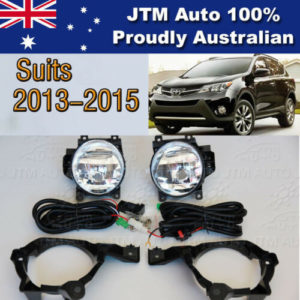 Driving/Fog Lights Lamps Complete Kit suitable for Toyota Rav4 2013-2015