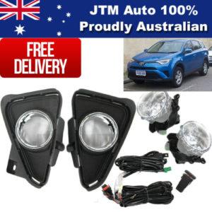 Driving/Fog Lights Lamps Complete Kit suitable for Toyota Rav4 2016-2018