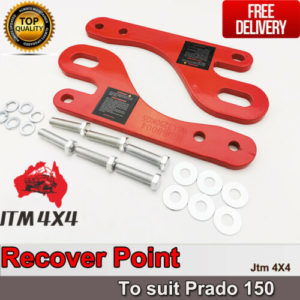 Recovery Tow Point Kit 3250 KG Tonne Hitch to suit Toyota Prado 150 09-20