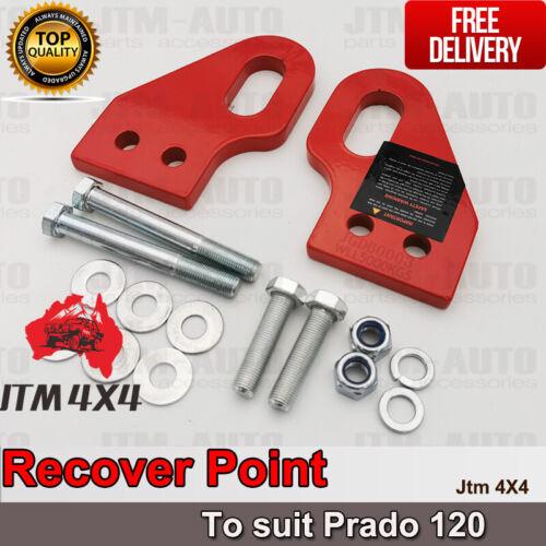 Recovery Tow Point Kit 5 Tonne Hitch to suit Toyota Prado 120 2003-2009